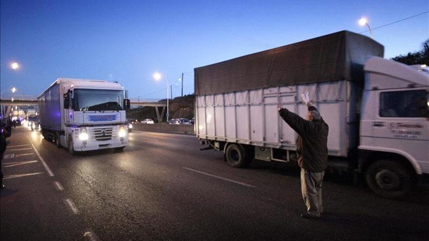 Dos heridos en la concentración para impedir un desalojo en Elviña (A Coruña)