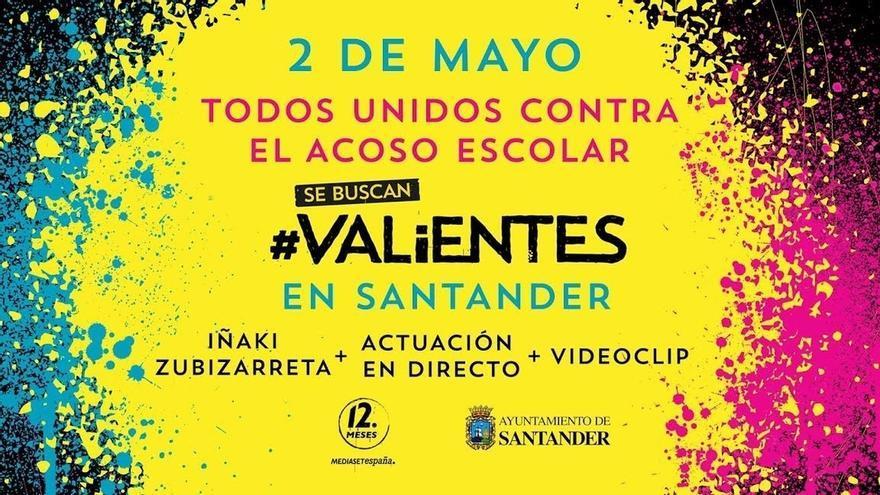 Santander se une el martes al Día contra el Acoso Escolar