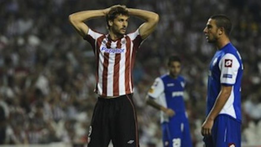 Fernando Llorente está cerca de abandonar el Athletic.