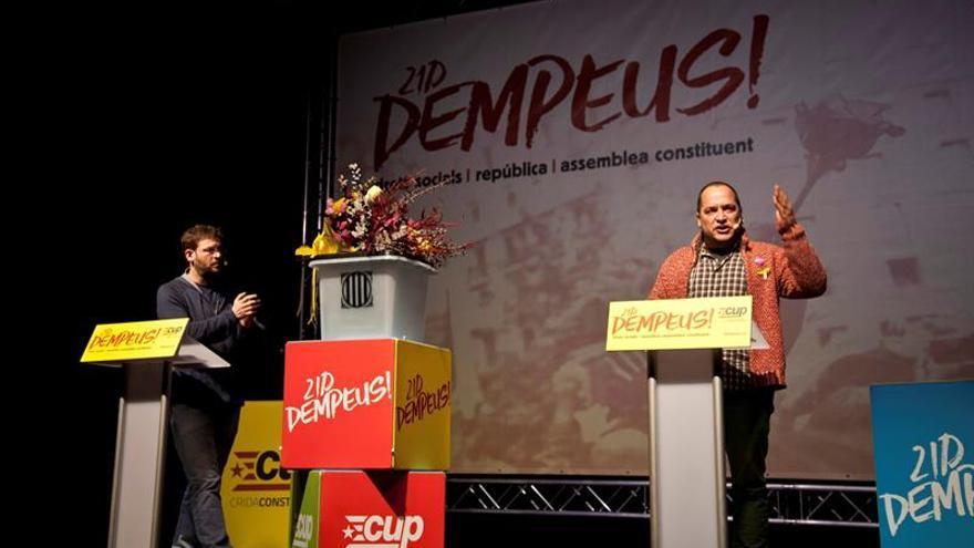 """David Fernàndez: """"La vía democrática dentro del Estado español es imposible"""""""
