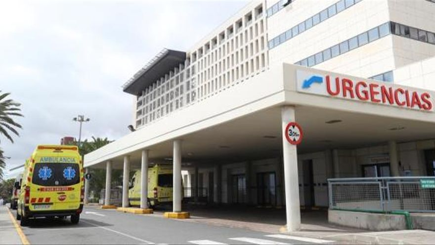 Urgencias del Hospital Insular de Gran Canaria. (EFE)