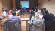 Uno de los talleres del proceso de participación ciudadana de Jaca. Foto: Aragón Participa