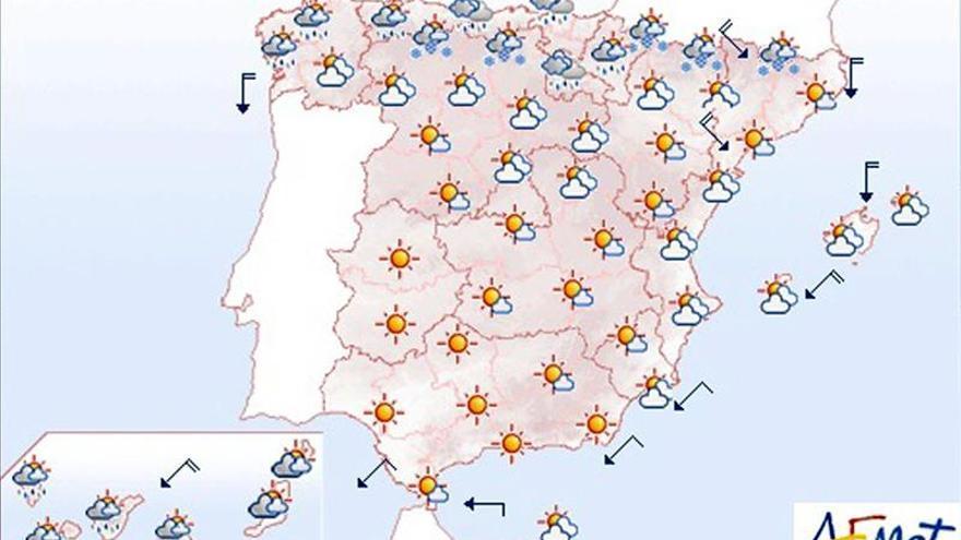 Mañana, continúa el viento fuerte en el norte y este de la Península