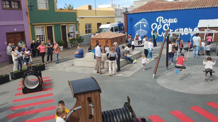 Inauguración este miércoles del parque El Granero.
