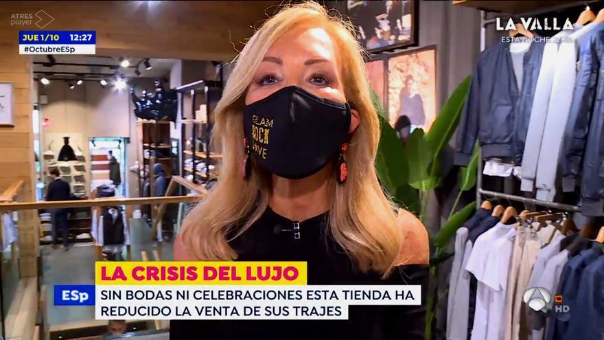 Carmen Lomana en su reportaje