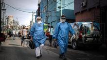 Argentina registra 717 nuevos casos de COVID-19 y las muertes ya suman 520