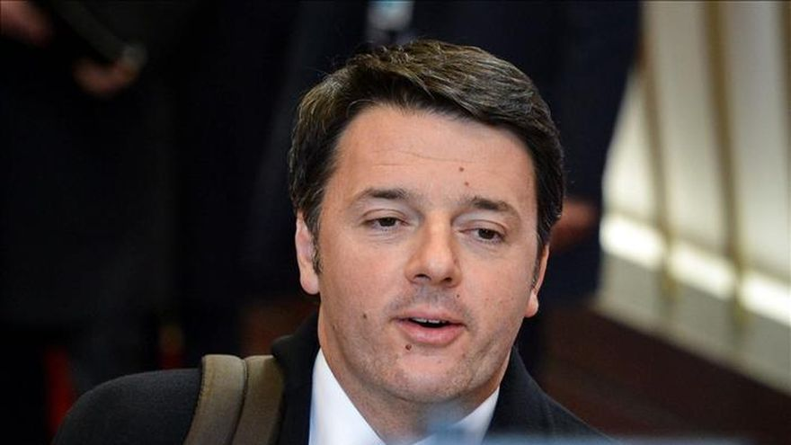 Renzi descarta una intervención militar en Libia y pide prudencia