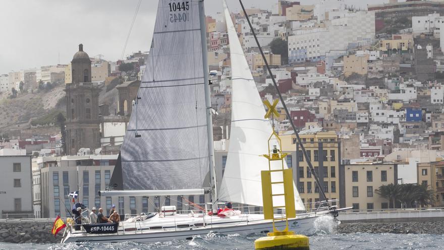 Proteína 65, ganador en ORC, llegando a Las Palmas de Gran Canaria.