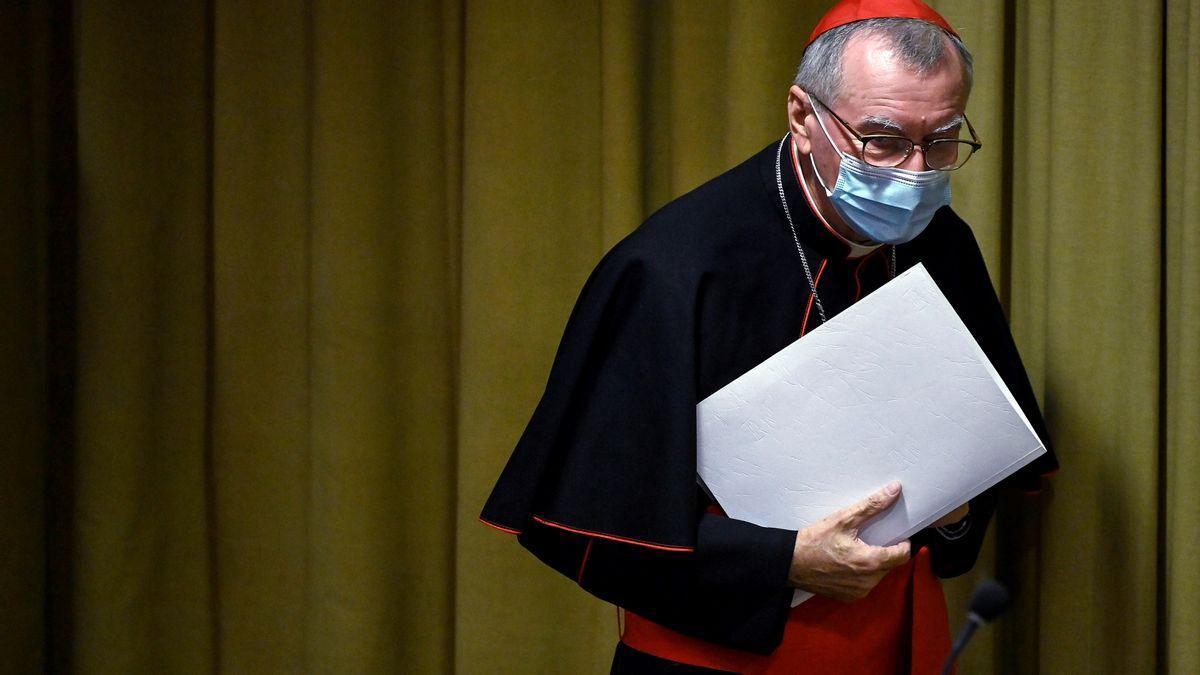 El secretario de Estado del Vaticano, el cardenal italiano Pietro Parolin.