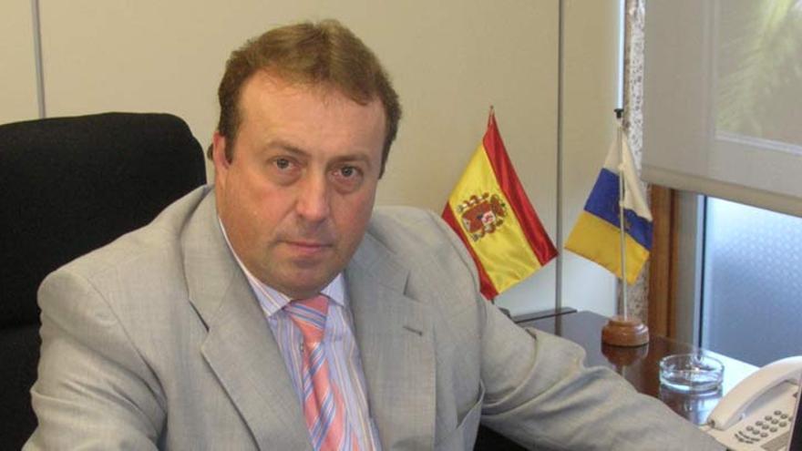 Sebastián Ledesma, consejero del PP en el Cabildo de Tenerife, en una imagen de archivo