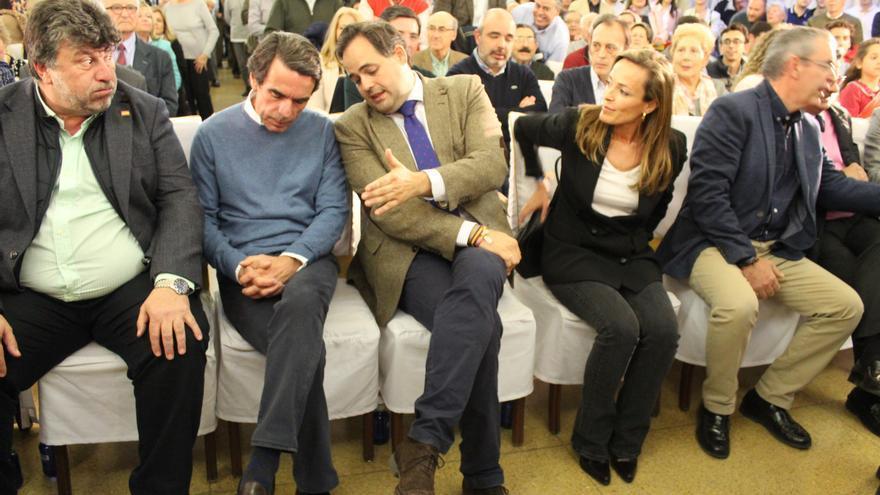 Acto de José María Aznar en el Casino de Albacete