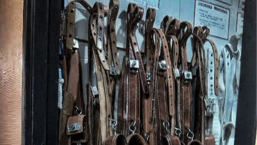 Cuerdas, contenciones forzosas. (Hospital Madrileño)