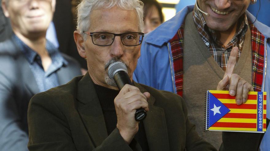 El juez Santiago Vidal, en la presentación de la candidatura de ERC para las elecciones del 20D.