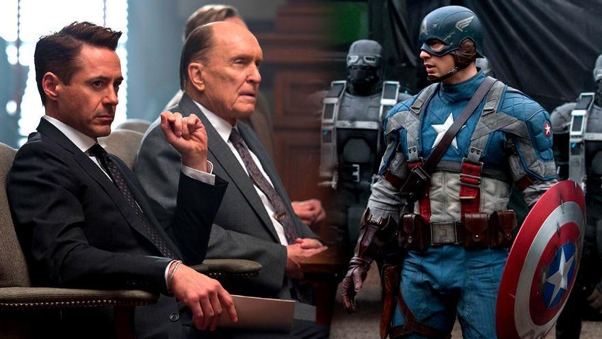 El Juez en Antena 3 y Capitán América en La 1