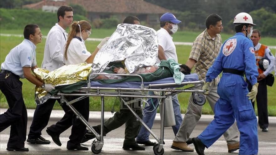 Un policía muerto, cuatro heridos y tres desaparecidos deja un ataque de las FARC