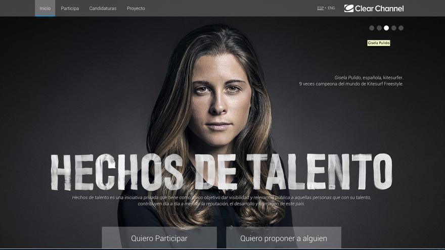 Página Hechos de Talento. / Foto: Hechos de Talento