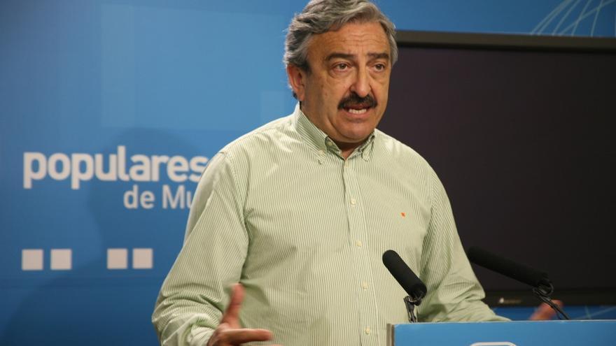 El exdiputado del PP Andrés Ayala. Foto: PP de Murcia