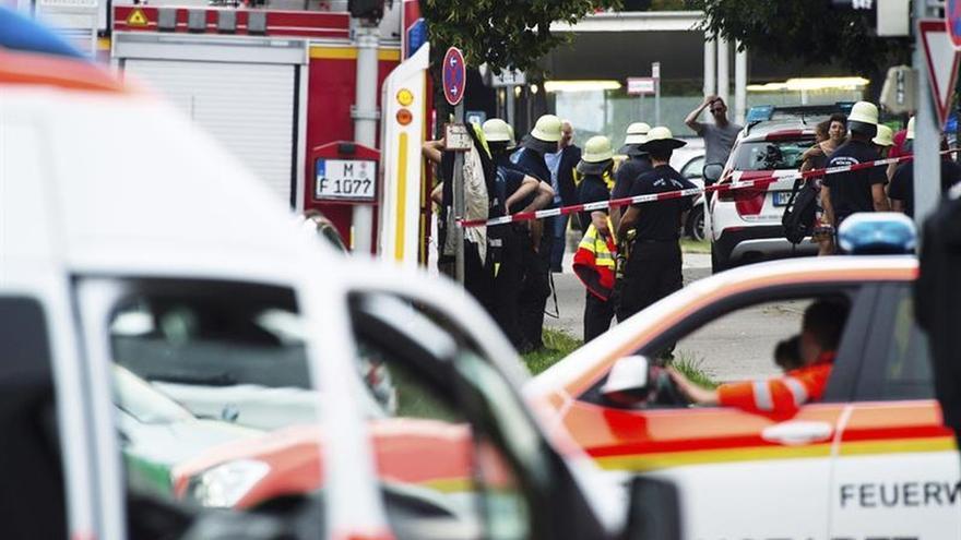 Al menos cinco muertos en el tiroteo de Múnich, según la Policía