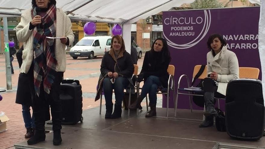 """Bescansa (Podemos) critica """"los recortes"""" a las partidas para combatir la violencia de género"""