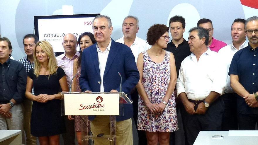 Rafael González Tovar en el Consejo de Alcaldías
