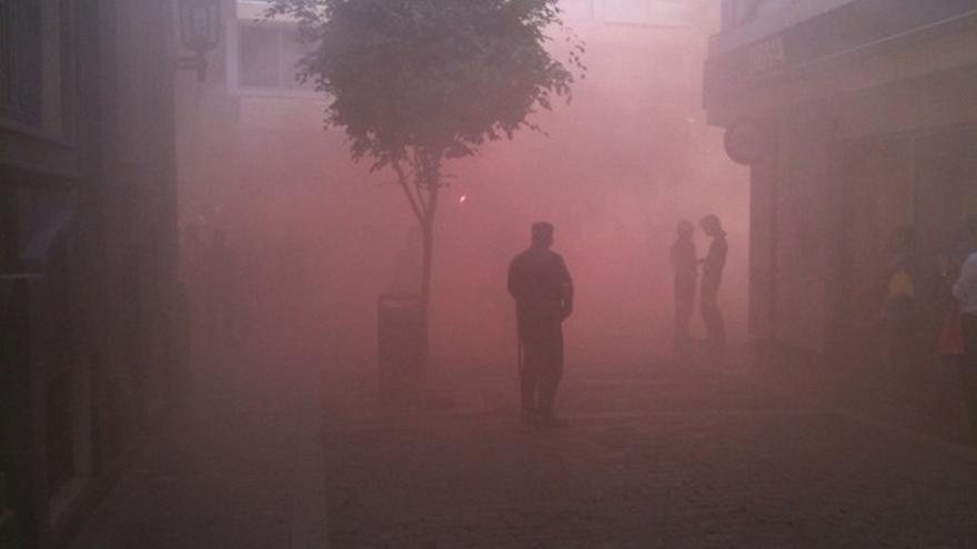De las protesta de los bomberos #3