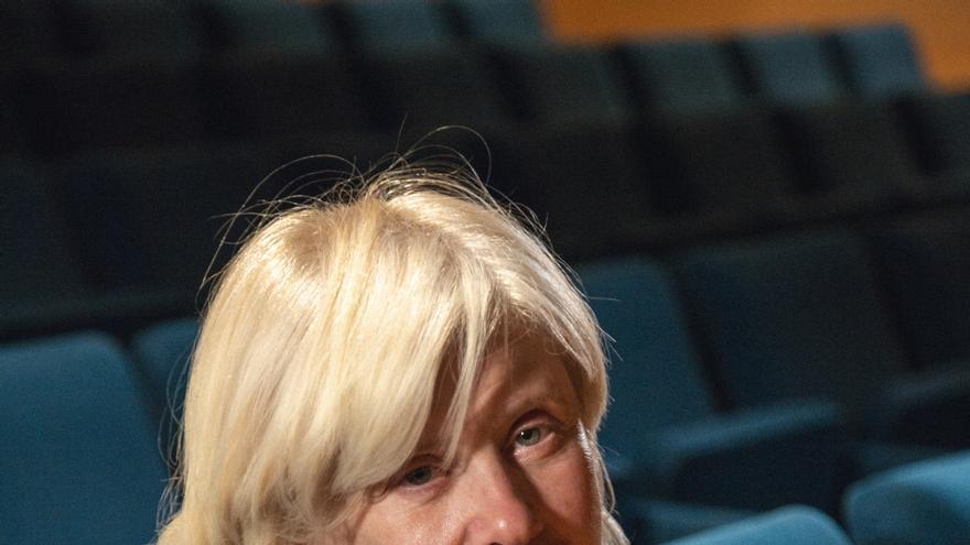 Catherine Breillat en el Auditorio de La Casa Encendida. Foto: Guzmán Infazón.
