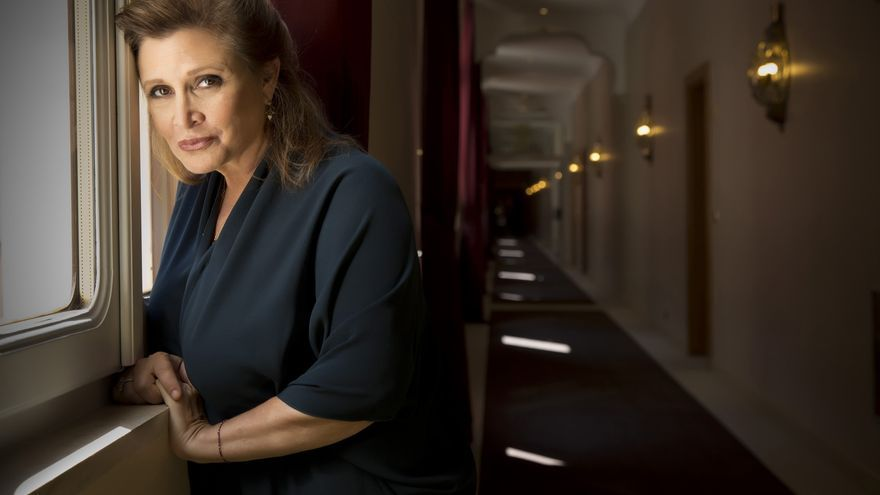 Carrie Fisher. Foto: Disney
