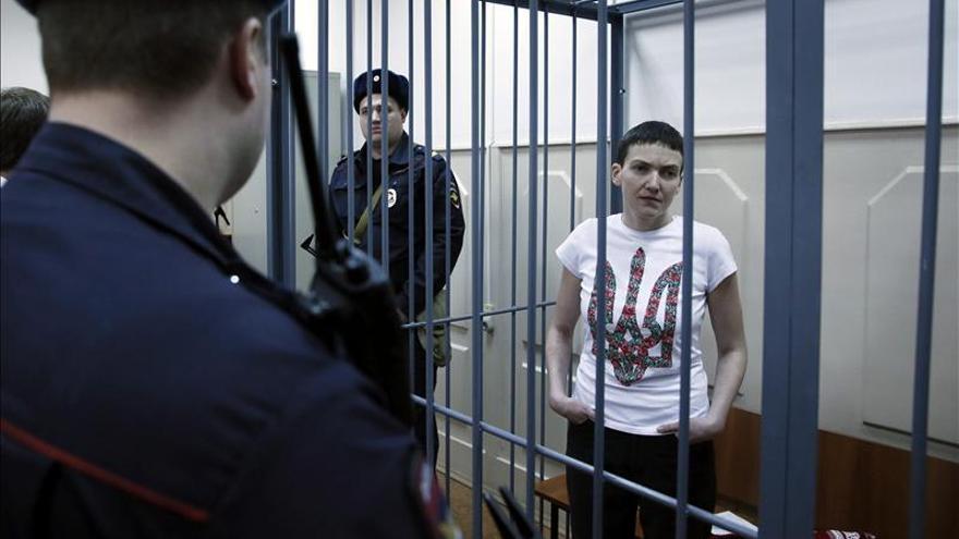 El Kremlin aclara que Putin no ha prometido la liberación de una piloto ucraniana