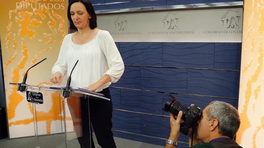 La diputada de Unidos Podemos Carolina Bescansa, en una imagen de archivo.