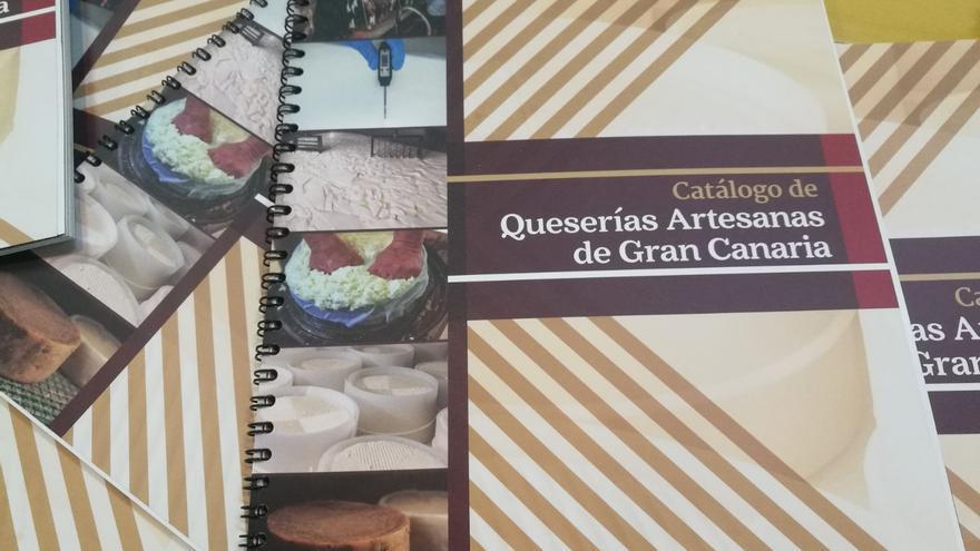 Catálogo de las Queserías Artesanas de Gran Canaria.