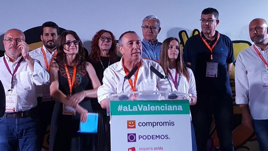 El número 1 de A La Valenciana por Valencia, Joan Baldoví, explica los resultados del 26J.