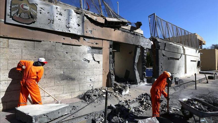Francia, Alemania, Italia, España, Reino Unido y EEUU condenan la violencia en Libia