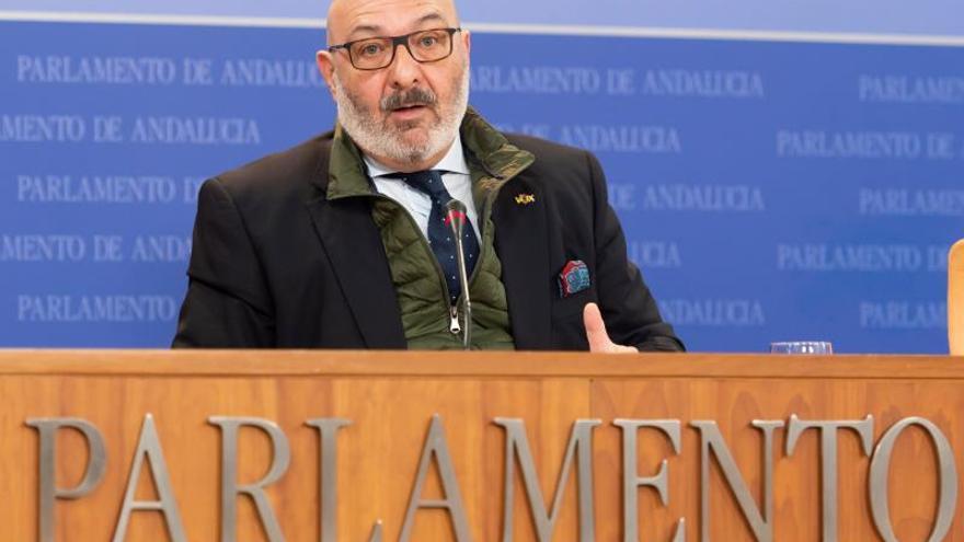 """Vox Andalucía dice que """"no va a transigir"""" con el cumplimiento del pin parental"""
