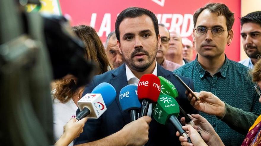 Garzón confirma el acuerdo PSOE-Unidas Podemos para un Gobierno de coalición