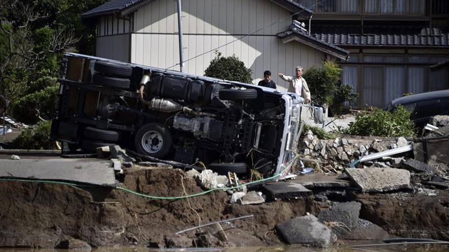 El tifón Namtheun golpea el sur y el oeste de Japón