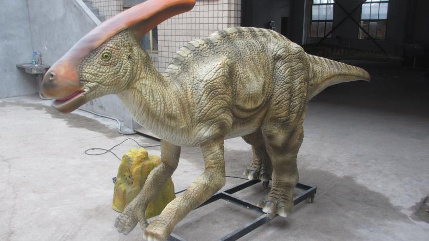 Sólo pueden hacer este trabajo quienes sienten pasión por el mundo de los dinosaurios