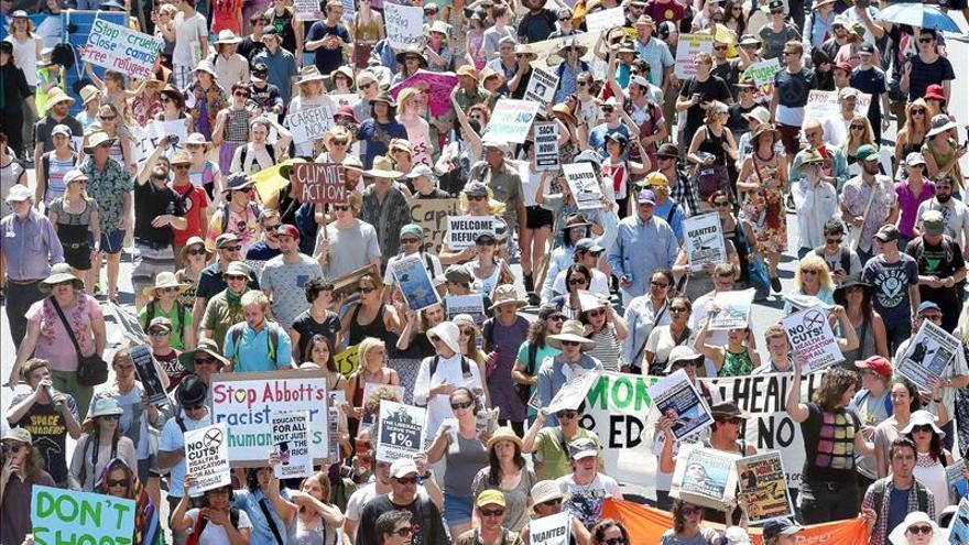 El clamor por la desaparición de los estudiantes mexicanos llega hasta el G20
