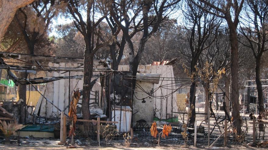 PP-A pide en el Parlamento un plan de actuación en la zona del incendio de Moguer y ayudas para los damnificados