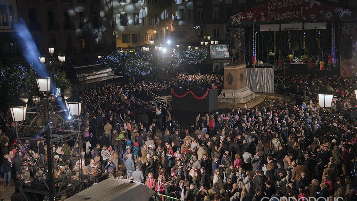 Imagen de archivo de la Fiesta de Nochevieja en Las Tendillas de 2019