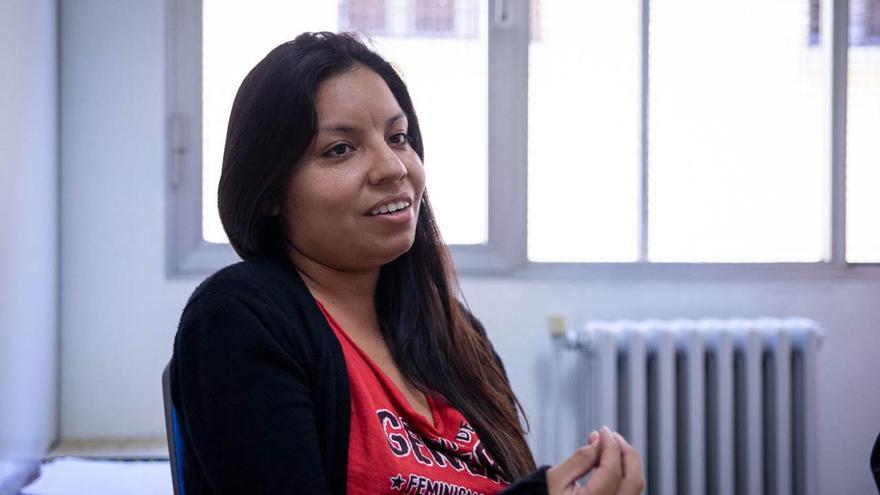 Tatiana Delgado, miembro de La Poderosa. (MIKEL OIBAR)