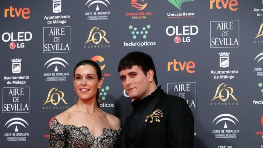 Félix Gómez, Jan Cornet y Ruth Gabriel abren la alfombra roja de los Goya
