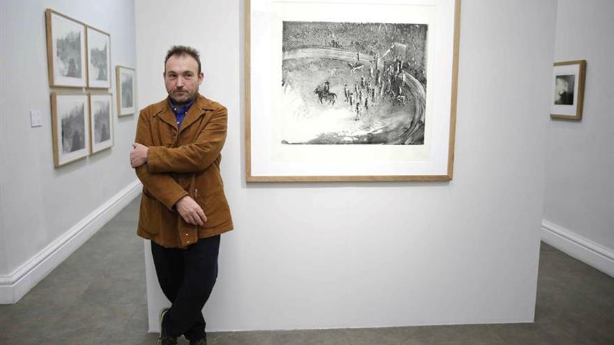 Miquel Barceló exhibe en Japón su espectáculo de imágenes efímeras