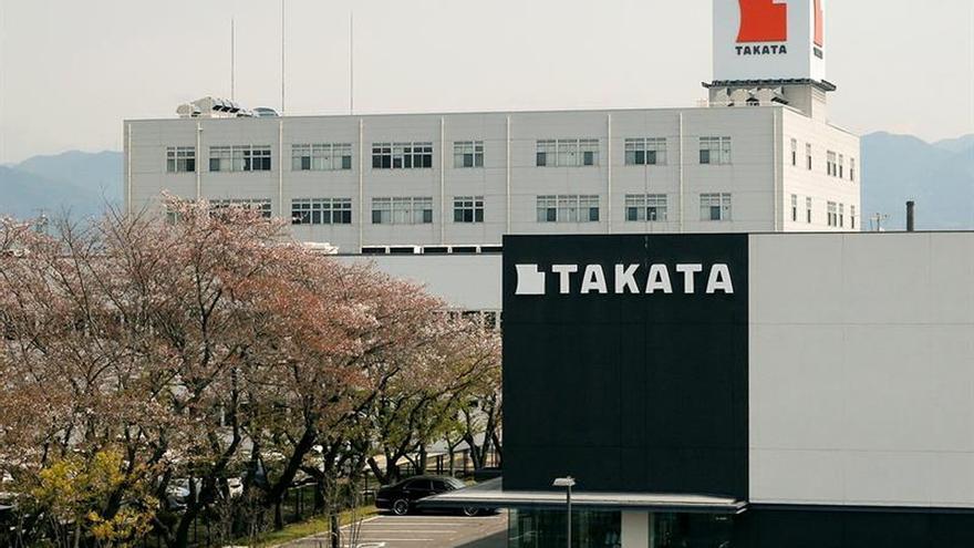 Takata se hunde en Bolsa un 11,6 % ante una posible venta y bancarrota