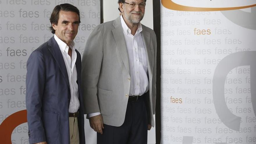 Rajoy dice que el gobierno de Aznar redujo menos el déficit que el suyo