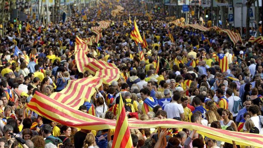 """Los catalanes tuitearon 175.000 mensajes con las palabras """"vía catalana"""""""