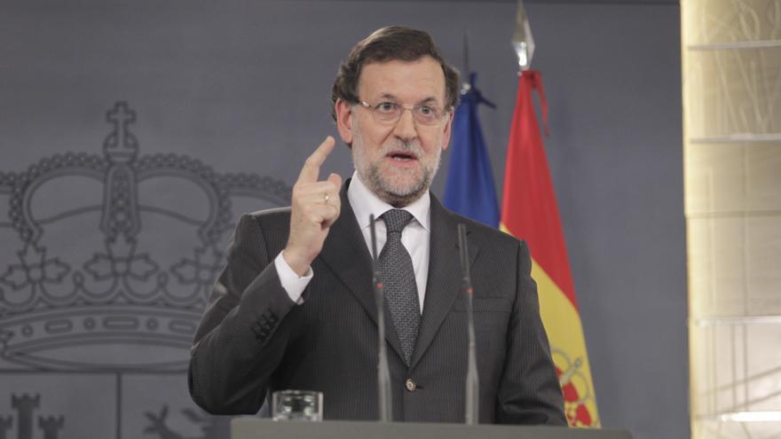 """Rajoy dice que los españoles han estado a la altura, no como """"en otros lugares"""", al ser preguntado por Gamonal"""