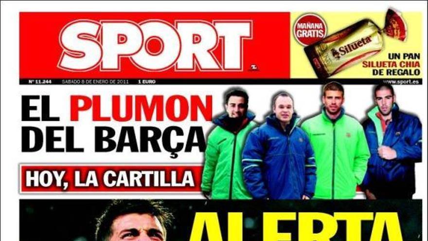 De las portadas del día (08/01/2011) #16