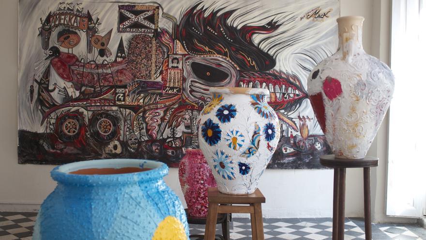 Un salón también puede ser una galería de arte