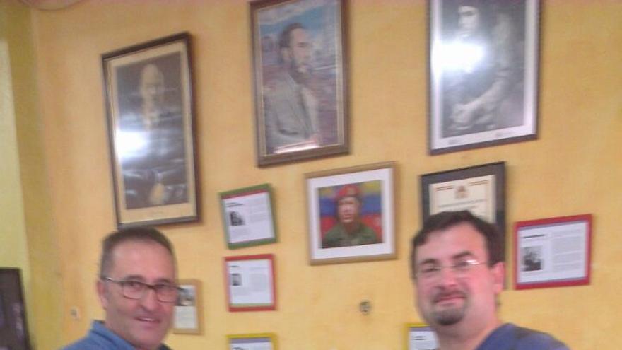 Primarias de IU en Madrigueras (Albacete); José Luis Valera, ganador (izq) y Emilio José Zamora (der)