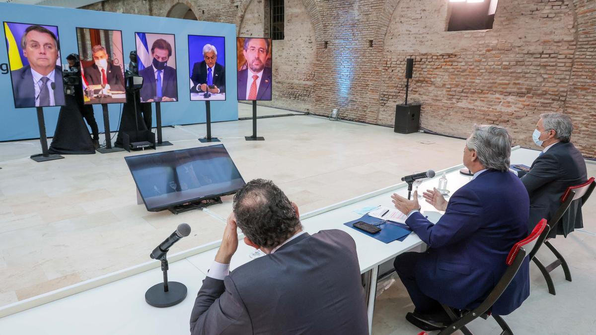 La cumbre del Mercosur del 8 de julio